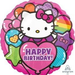 Μπαλόνι Hello Kitty Happy Birthday