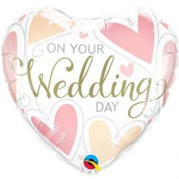 Μπαλόνι Καρδιά On Your Wedding Day