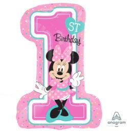 Μπαλόνι Minnie 1st Birthday