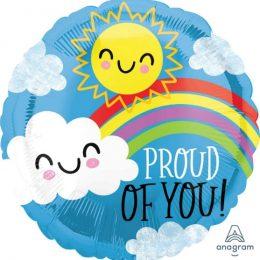 Μπαλόνι Proud of You Ήλιος & Συννεφάκι