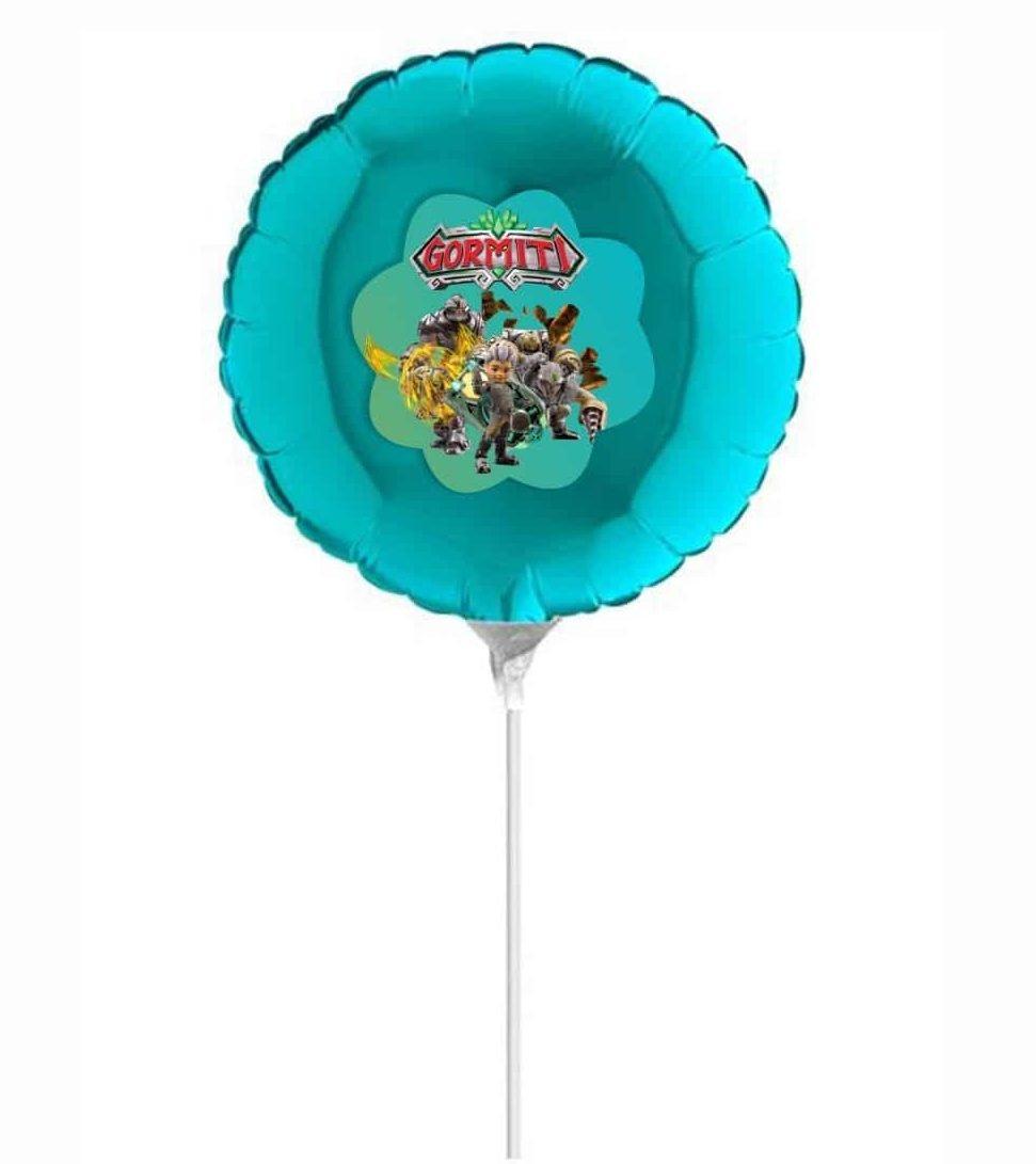 """Μπαλόνι Βεραμάν με αυτοκόλλητο Gormiti 10"""""""