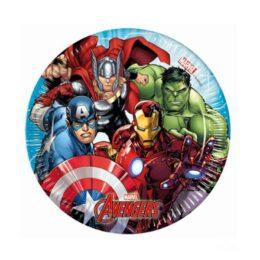 Πιάτα Avengers (8 τεμ)