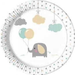 Πιάτα Ελεφαντάκι (8 τεμ)
