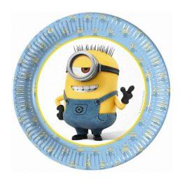 Πιάτα γλυκού Minions (8 τεμ)