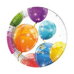 Πιάτα με Μπαλόνια (8 τεμ)
