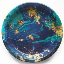 Πιάτα Midnight Blue (8 τεμ)
