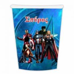 Ποτήρια Avengers (6 τεμ)