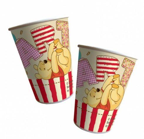 Ποτήρια Winnie the Pooh (8 τεμ)