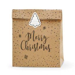 Σακουλάκια για δωράκια Merry Christmas