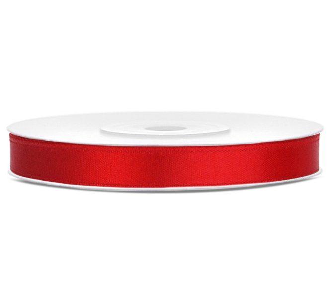 Σατέν κορδέλα φαρδιά Κόκκινο (25μ.)