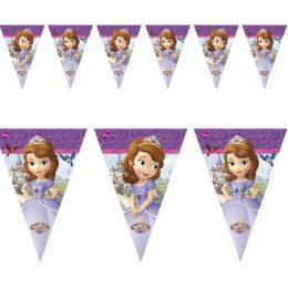 Τριγωνικά Σημαιάκια Πριγκίπισσα Σοφία