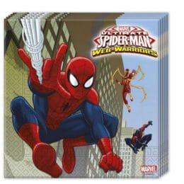 Χαρτοπετσέτες Spiderman (20 τεμ)