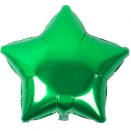 """μπαλόνι πράσινο αστέρι 18"""""""