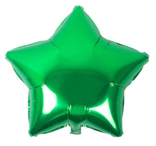 Μπαλόνι Πράσινο αστέρι 18″