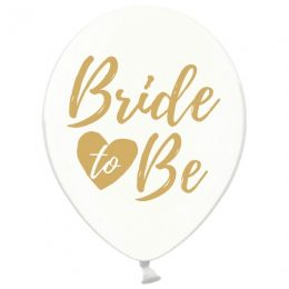 Bride to Be Διάφανα Μπαλόνια (6 τεμ)