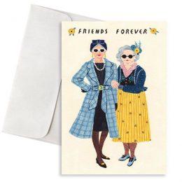 κάρτα γενεθλίων firends forever