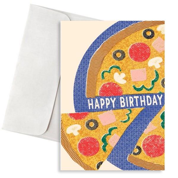 κάρτα γενεθλίων πίτσα