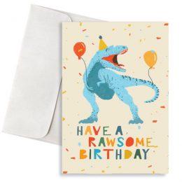 κάρτα γενεθλίων rawsome birthday