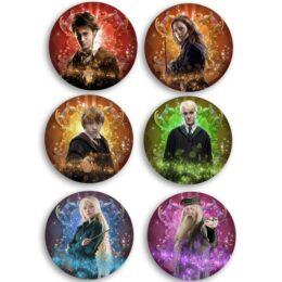 Κονκάρδες Harry Potter (6 τεμ)