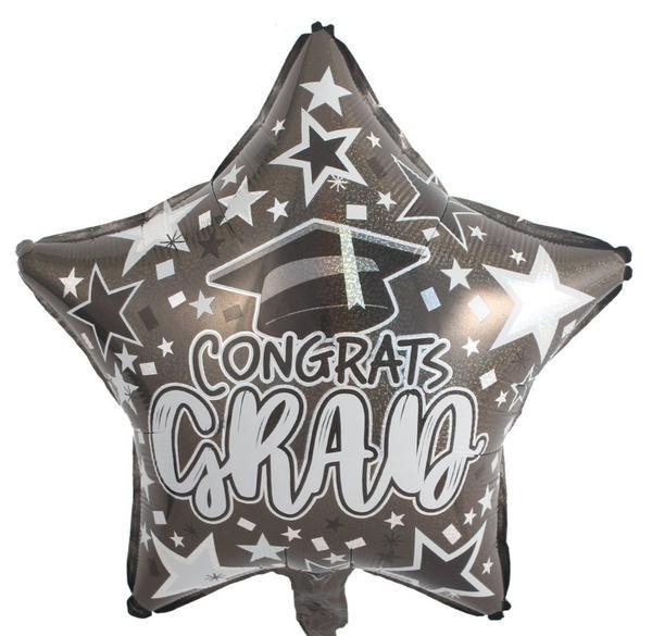 Μπαλόνι Αποφοίτησης αστέρι Congrats