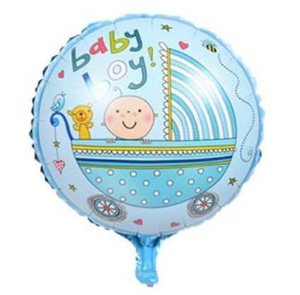 Μπαλόνι Baby Boy Καροτσάκι