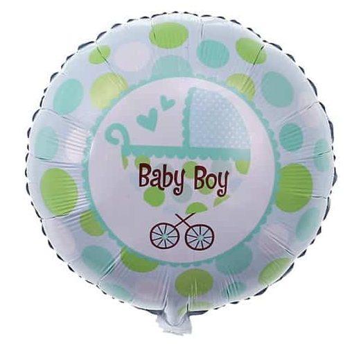 Μπαλόνι Baby Boy Καρότσι