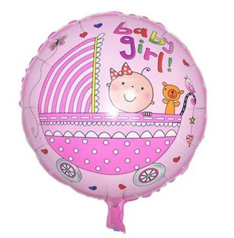 Μπαλόνι Baby Girl Καροτσάκι