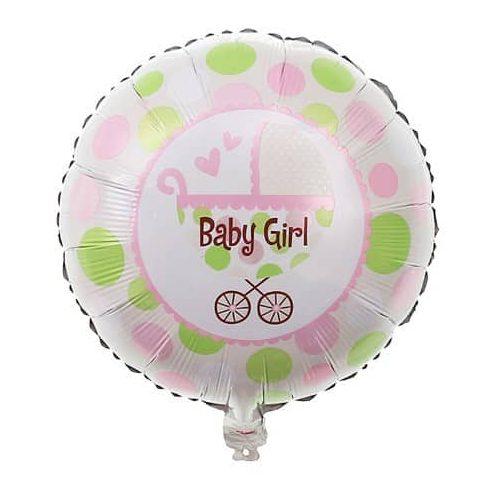 Μπαλόνι Baby Girl Καρότσι
