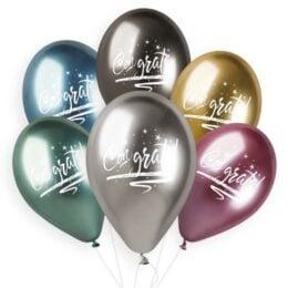 Μπαλόνι Congrats Shiny Μεταλλικό
