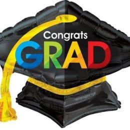 """μπαλόνι καπέλο αποφοίτησης 28"""""""