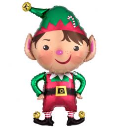 """μπαλόνι ξωτικό των χριστουγέννων 35"""""""