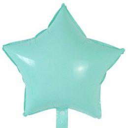 """Μπαλόνι macaron βεραμάν αστέρι 18"""""""