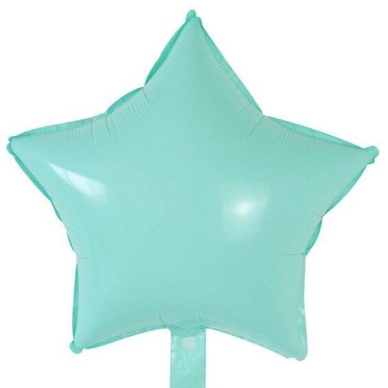 Μπαλόνι Macaron Βεραμάν αστέρι 18″