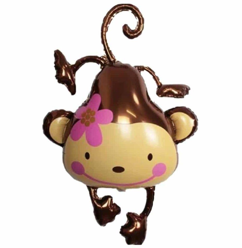 Μπαλόνι Μαϊμού με λουλουδάκι