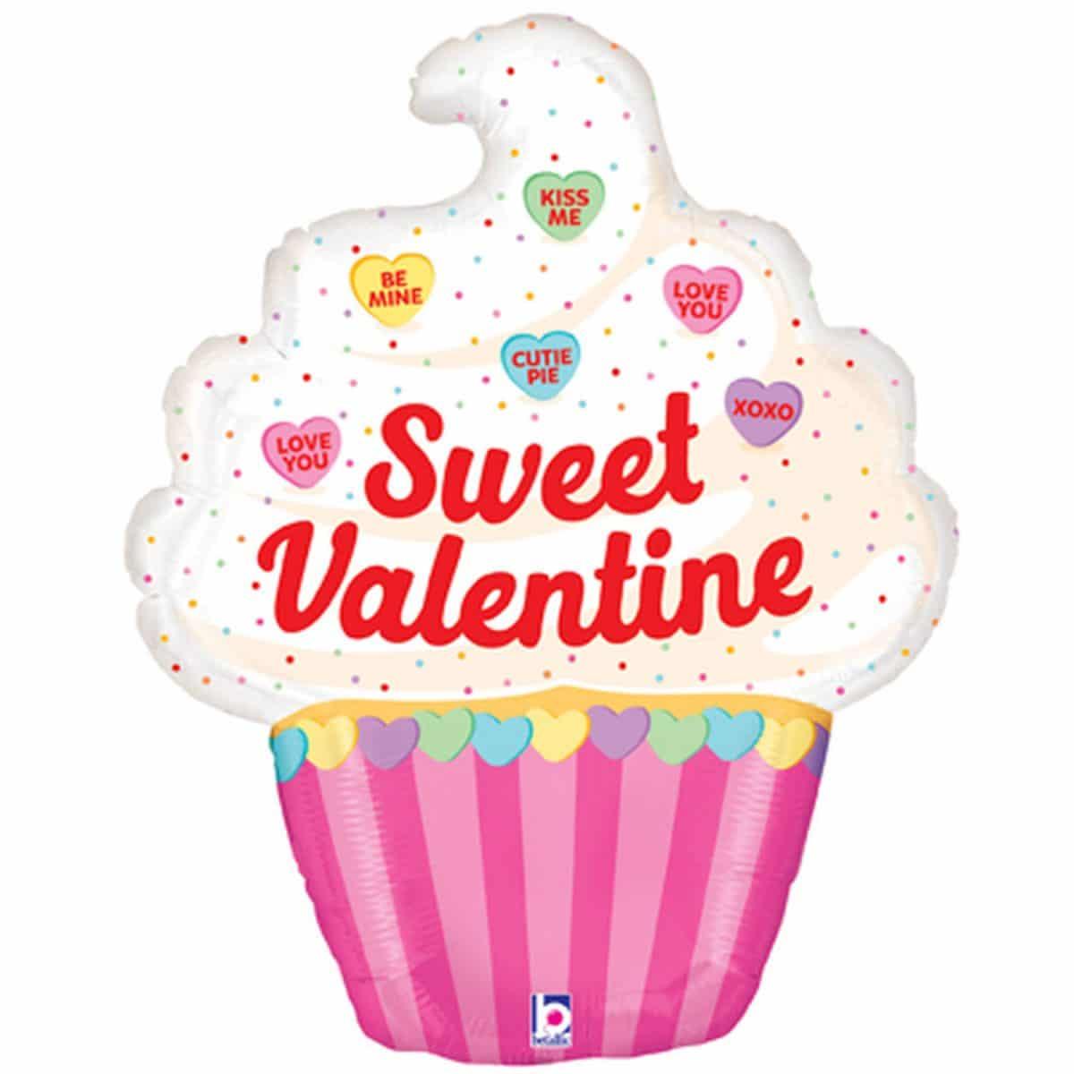 Μπαλόνι Sweet Valentine Cupcake