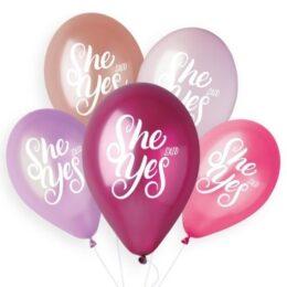 13″ Μπαλόνι τυπωμένο She Said Yes
