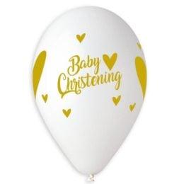 13″ Μπαλόνι τυπωμένο Baby Christening