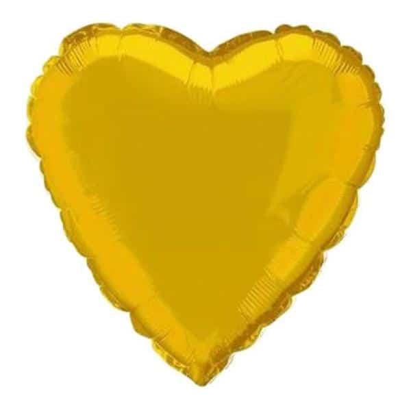 """μπαλόνι χρυσή καρδιά 36"""""""