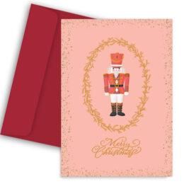 Χριστουγεννιάτικη Κάρτα Παππούς & Γιαγιά
