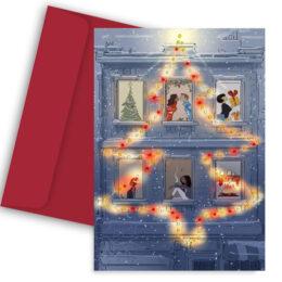 Χριστουγεννιάτικη Κάρτα Christmas View