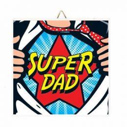 Καδράκι Super Dad