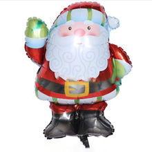 Μπαλόνι Άγιος Βασίλης Πράσινα Γάντια