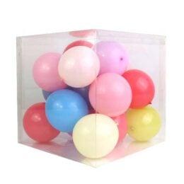 Διάφανο Κουτί Διακόσμησης για Μπαλόνια
