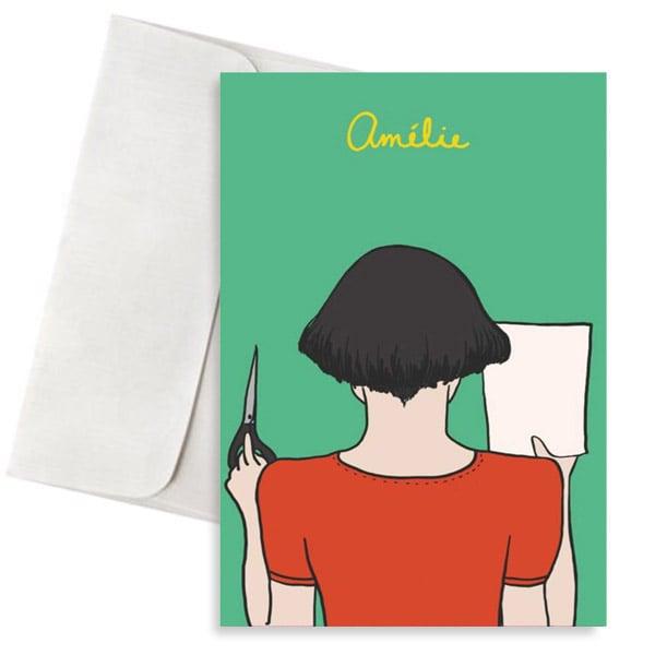 ευχετήρια κάρτα Amelie