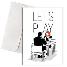 Ευχετήρια Κάρτα Lets Play