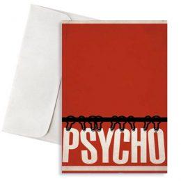 Ευχετήρια Κάρτα Psycho