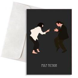 ευχετήρια κάρτα Pulp Fiction