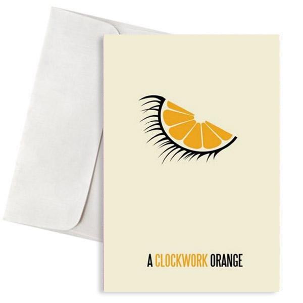 Ευχετήρια Κάρτα Clockwork Orange