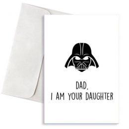 Ευχετήρια Κάρτα Dad I'm Your Daughter