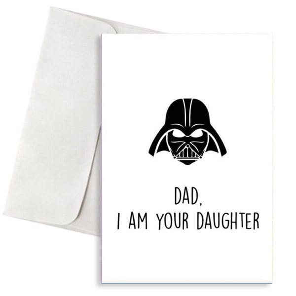Ευχετήρια Κάρτα Dad Am Your Daughter